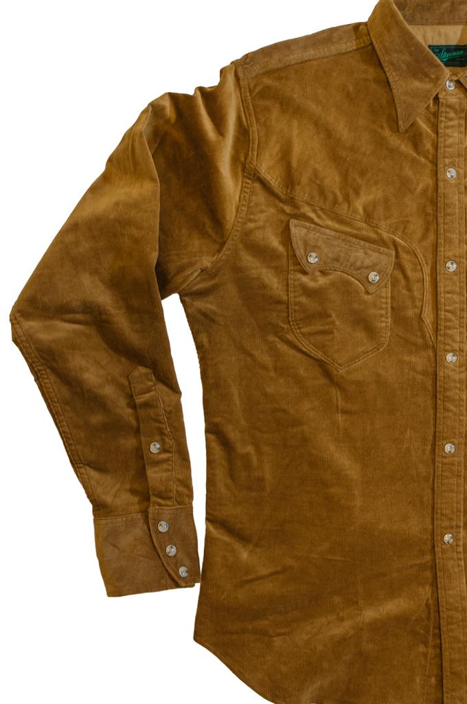 Stevenson Cody Snap Shirt - Khaki Corduroy - Image 4