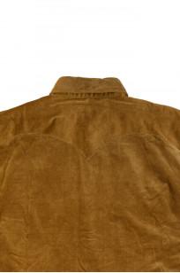 Stevenson Cody Snap Shirt - Khaki Corduroy - Image 6