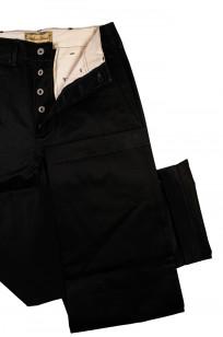 Buzz Rickson x William Gibson Chinos - Very Black - Image 6