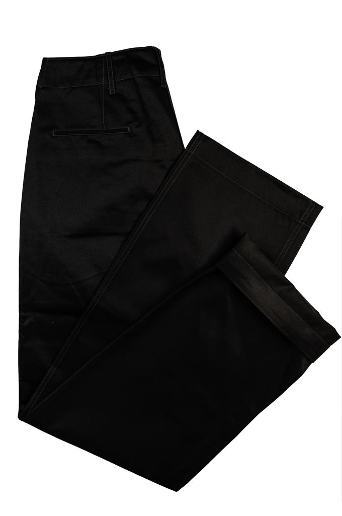Buzz Rickson x William Gibson Chinos - Very Black - Image 8