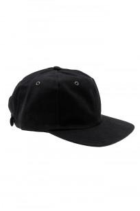 3sixteen Baseball Cap - Waxed Canvas Black - Image 0