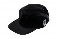 3sixteen Baseball Cap - Waxed Canvas Black - Image 3