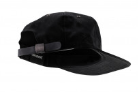 3sixteen Baseball Cap - Waxed Canvas Black - Image 4