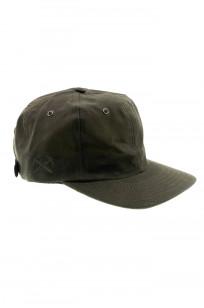 3sixteen Baseball Cap - Waxed Canvas Olive - Image 0