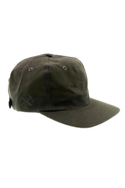 3sixteen Baseball Cap - Waxed Canvas Olive
