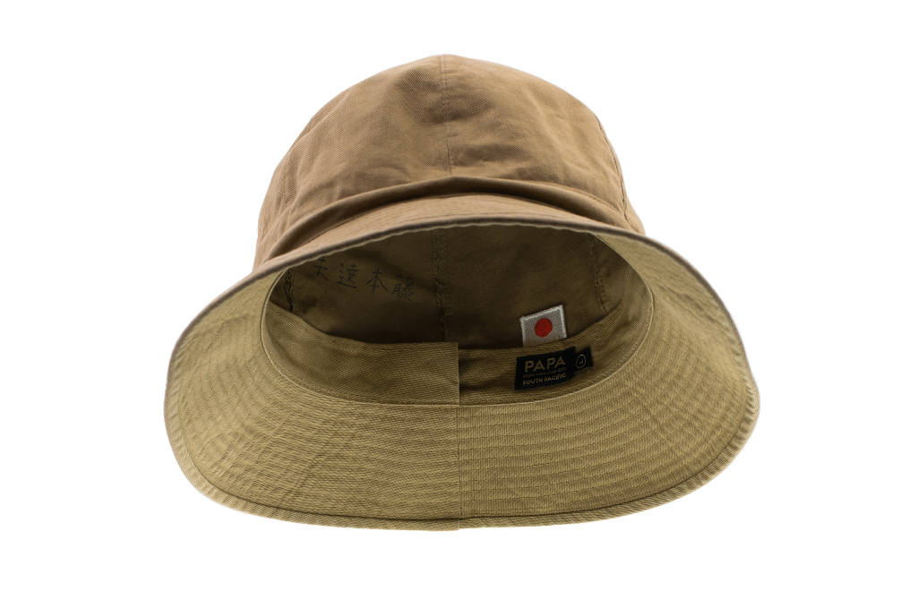 Papa Nui Fuji Bucket Cap - Japanese Cotton Twill - Image 2