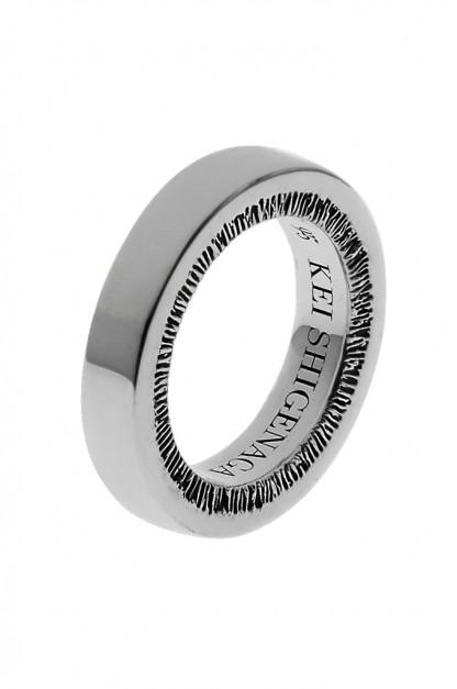 Kei Shigenaga Sterling Silver Ring - Shisui