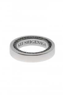 Kei Shigenaga Sterling Silver Ring - Shisui - Image 1
