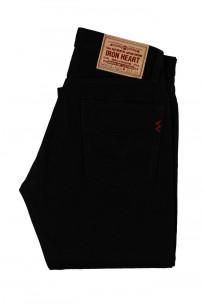 Iron Heart 633s-14BB - Straight Tapered Black/Black Denim - Image 4