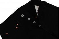 Iron Heart 633s-14BB - Straight Tapered Black/Black Denim - Image 9