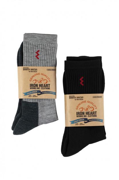 Iron Heart Heavyweight Work Boot Socks (Medium Cut)