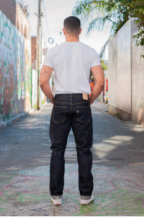 Pure Blue Japan SN-019 Snow Denim Jeans - Straight Tapered - Image 2