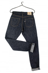 Pure Blue Japan SN-019 Snow Denim Jeans - Straight Tapered - Image 7