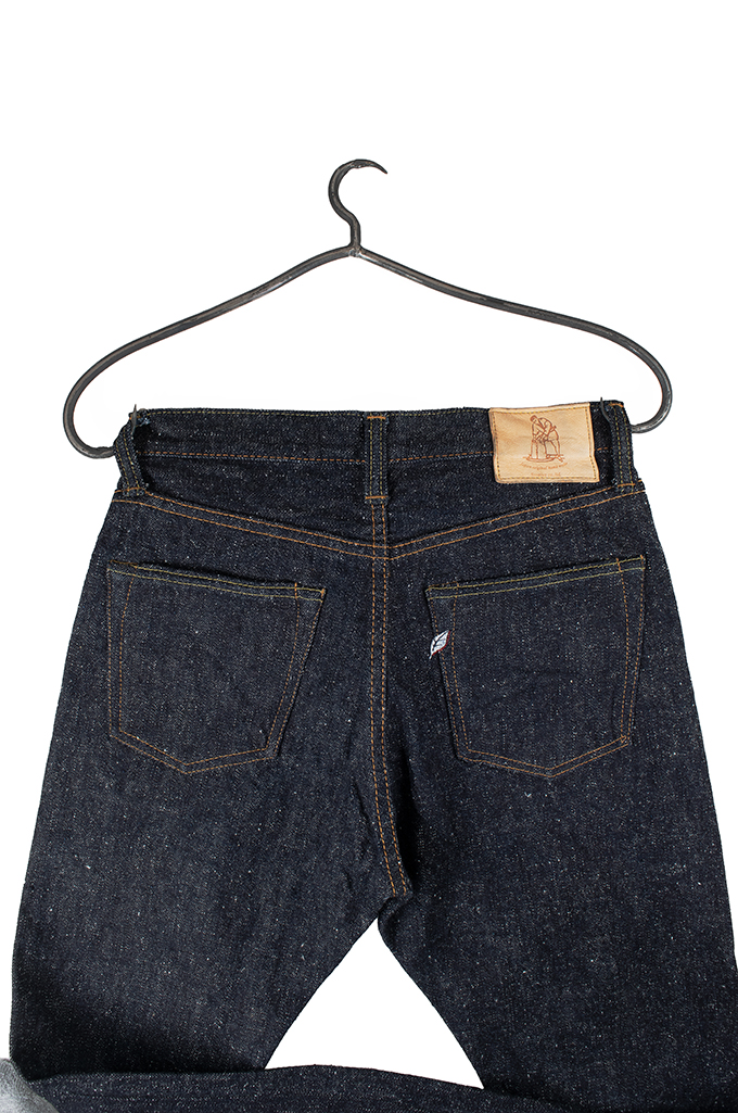 Pure Blue Japan SN-019 Snow Denim Jeans - Straight Tapered - Image 8