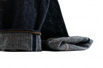 Pure Blue Japan SN-019 Snow Denim Jeans - Straight Tapered - Image 9