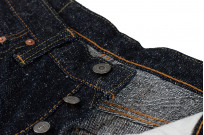 Pure Blue Japan SN-019 Snow Denim Jeans - Straight Tapered - Image 10