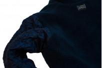 Studio D'Artisan Kasezome Sashiko Jacket - Dark Indigo - Image 11