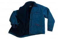 Studio D'Artisan Kasezome Sashiko Jacket - Faded Indigo - Image 9