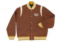 Human Made Reversible Wool & Leather Varsity Jacket - Image 7