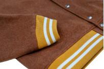 Human Made Reversible Wool & Leather Varsity Jacket - Image 10