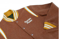 Human Made Reversible Wool & Leather Varsity Jacket - Image 12