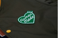 Human Made Reversible Wool & Leather Varsity Jacket - Image 16