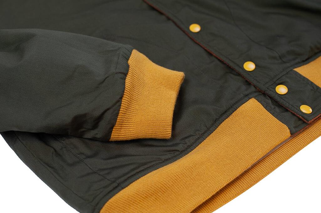 Human Made Reversible Wool & Leather Varsity Jacket - Image 18