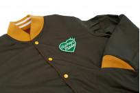 Human Made Reversible Wool & Leather Varsity Jacket - Image 19