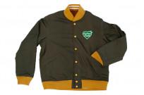 Human Made Reversible Wool & Leather Varsity Jacket - Image 20