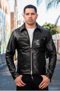 Iron Heart Horsehide Leather Jacket w/ Collar - Self Edge Edition - Image 0