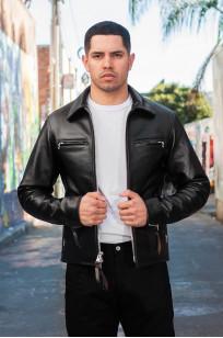 Iron Heart Horsehide Leather Jacket w/ Collar - Self Edge Edition - Image 2