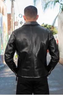 Iron Heart Horsehide Leather Jacket w/ Collar - Self Edge Edition - Image 3