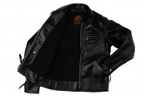 Iron Heart Horsehide Leather Jacket w/ Collar - Self Edge Edition - Image 6