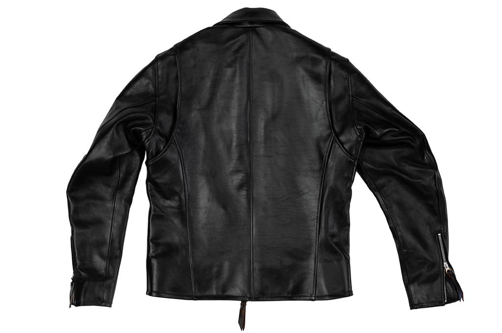 Iron Heart Horsehide Leather Jacket w/ Collar - Self Edge Edition - Image 9