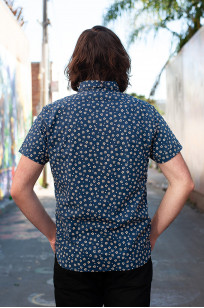 3sixteen Short Sleeve Button Down Shirt - Blue Sakura - Image 2