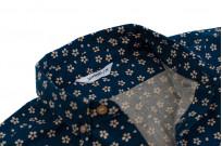 3sixteen Short Sleeve Button Down Shirt - Blue Sakura - Image 4