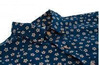 3sixteen Short Sleeve Button Down Shirt - Blue Sakura - Image 5