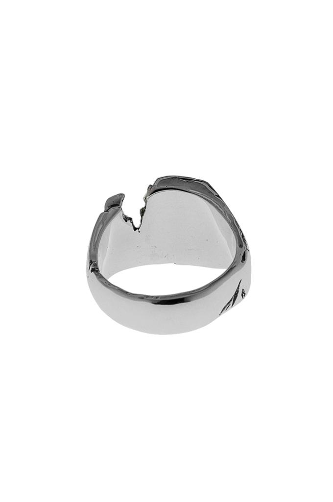 Kei Shigenaga Sterling Silver & 18k Gold Ring - Kyoka - Image 2