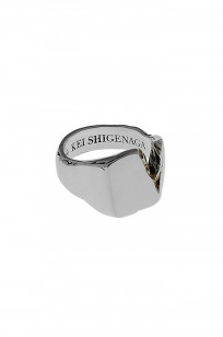 Kei Shigenaga Sterling Silver & 18k Gold Ring - Kyoka - Image 5
