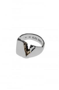 Kei Shigenaga Sterling Silver & 18k Gold Ring - Kyoka - Image 6