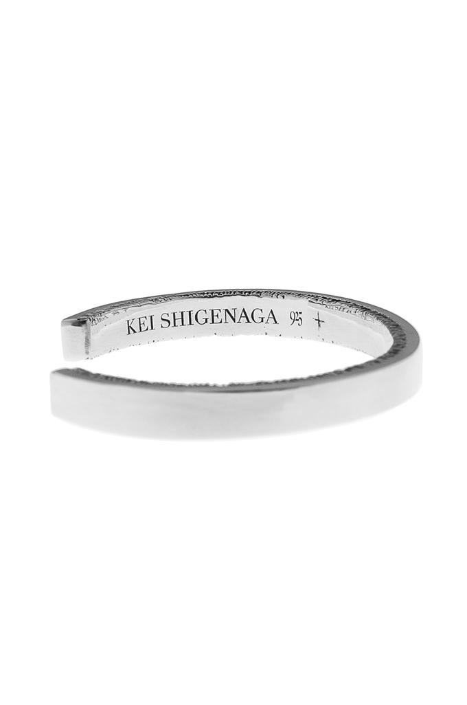 Kei_Shigenaga_Sterling_Silver_Bracelet_S