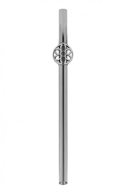 Good Art Stainless Steel & Sterling Silver Straw - Boba Sized