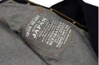 Iron Heart 12oz Denim Snap Shirt w/ Contrast Stitch - Image 8