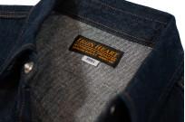 Iron Heart Snap Denim Shirt - Natural Indigo! - Image 6