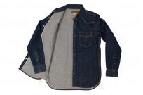 Iron Heart Snap Denim Shirt - Natural Indigo! - Image 8