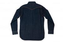 Iron Heart Snap Denim Shirt - Natural Indigo! - Image 11