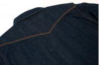 Iron Heart Snap Denim Shirt - Natural Indigo! - Image 12