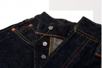 Pure Blue Japan SLB-019 16.5oz Slub Denim Jean - Straight Tapered - Image 6