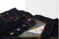 Pure Blue Japan SLB-019 16.5oz Slub Denim Jean - Straight Tapered - Image 7