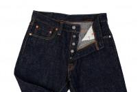 Pure Blue Japan SLB-019 16.5oz Slub Denim Jean - Straight Tapered - Image 8